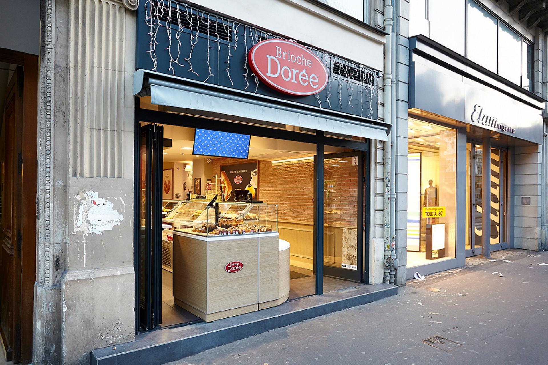 Brioche Dorée - Paris Rue de Rivoli